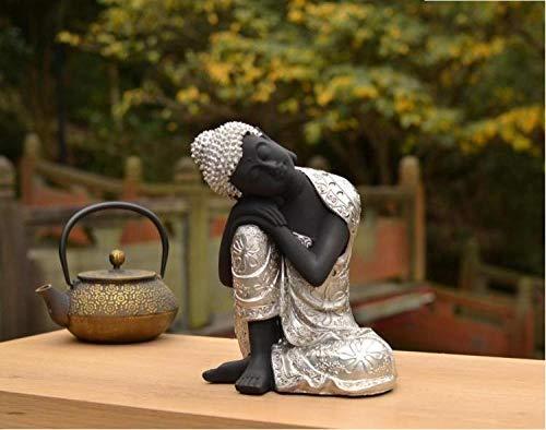 WPXBF Statues Sculptures Objets Décoratives Sculptures Décoratives Objets De Décoration Européenne Creative Athene Figure Art Sculpture Apollo Vénus Statue Serre-Livres Résine Artisanat Simple Déc