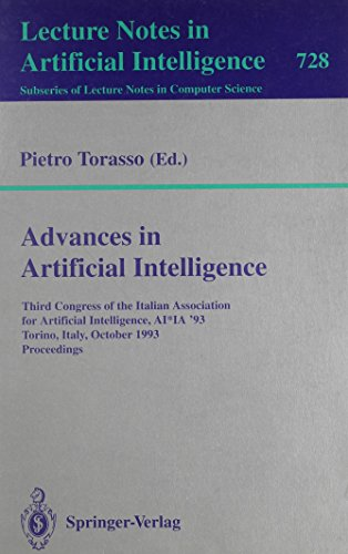 Advances in Artificial Intelligence: Third Congress of the Italian Association for Artificial Intelligence, Ai*Ia '93, Torino, Italy, October 26-28, (Lecture Notes in Computer Science)の詳細を見る