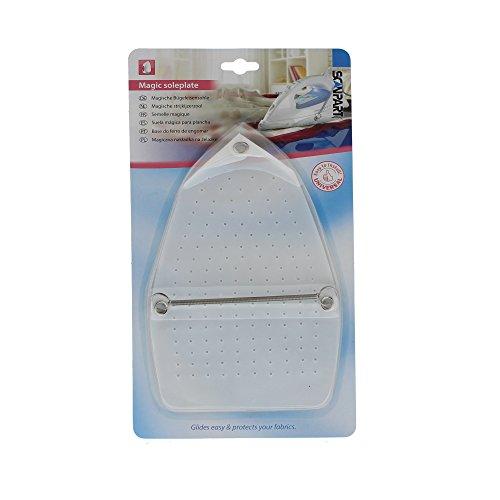 Scanpart Bügeleisengleitschutz, Bügeleisensohle für Bügeleisen, Schutz vor Versengschäden und glänzenden Stellen, universell
