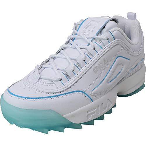 Fila Damen-Sneaker Disruptor Low Wmn 1010302-12v Top, - Weißes Kristallmeer - Größe: 39 EU