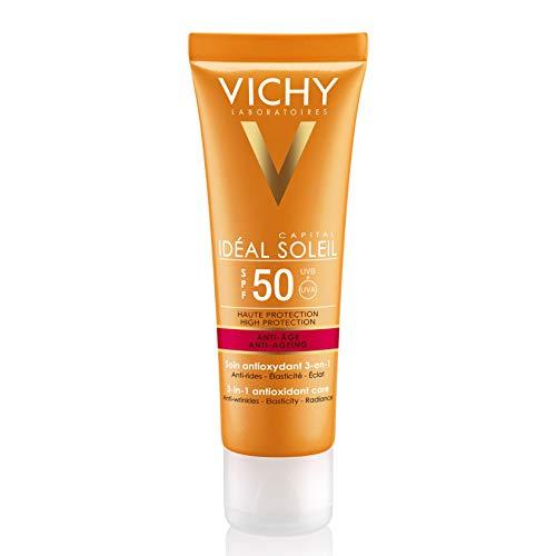 Vichy Ideal Soleil Crema Viso Anti Età - 50 ml