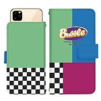 iPhone X スライド式 手帳型 スマホケース スマホカバー dslide741(G) チェック チェッカー カラフル アメリカン ポップ アイフォンX アイフォンテン アイフォン10 スマートフォン スマートホン 携帯 ケース アイホンX アイホンテン アイホン10 手帳 ダイアリー フリップ スマフォ カバー
