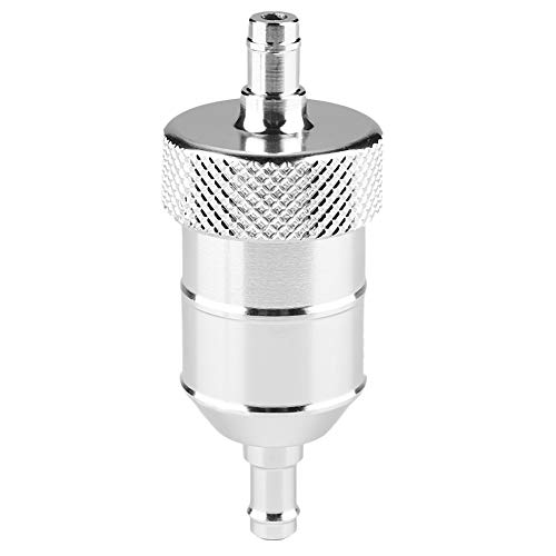 Yctze Benzinfilter, Universal 8mm Motorradfilterreiniger(Silber-)