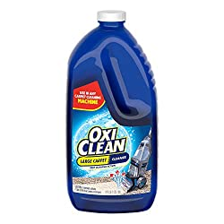 commercial Large surface, 64 ounces of OxiClean carpet cleaner. carpet cleaner detergent