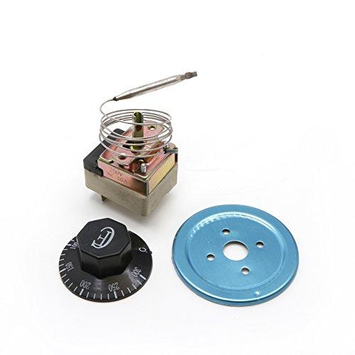 SUCHUANGUANG AC 250V 16A 50-300 ℃ Controlador de Temperatura del termostato NC...