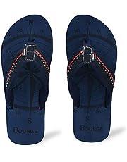 Bourge Men's Canton-Z3 Flip-Flops