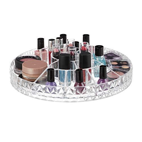 Organizador de Maquillaje Giratorio Bajo Marca Relaxdays