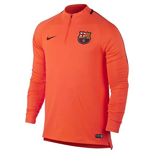 Nike - FC Barcelona Trainingsshirt Herren 2017-2018 Dry Squad Drill