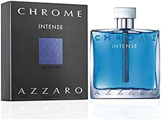 Azzaro Chrome Intense For Men- Eau de Toilette, 100ml