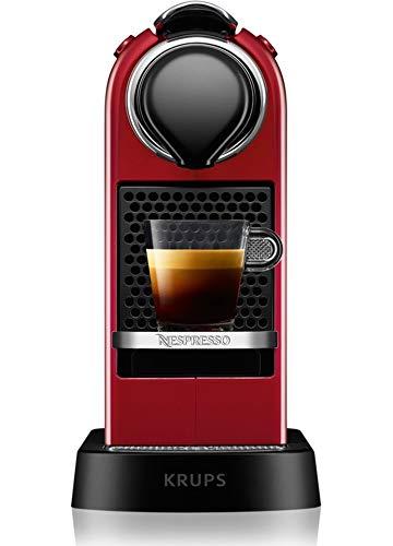 Krups - yy2731fd - Cafetière nespresso automatique 19 bars rouge citiz