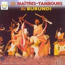 Master Drummers of Burundi by Maitres Tambours Du Burundi (1998-10-01)