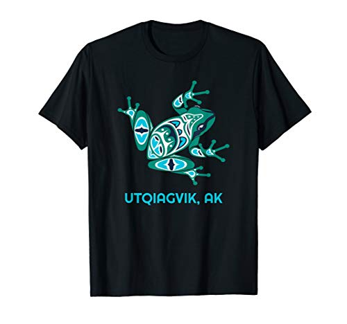 Utqiagvik Frog Pacific NW Native American Indian Alaska T-Shirt