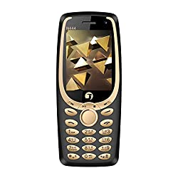 jivi N444 Mobile Phone - Black Gold