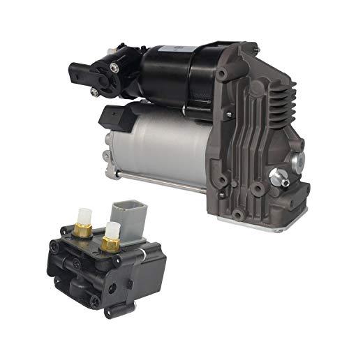 SCSN Bomba de compresor de suspensión neumática con válvula 37206792855 37106793778