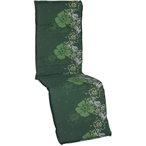 Beo Gartenmöbel Auflage Blumenranke grün für Relaxstühle Babette M309