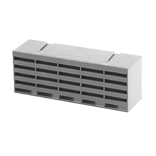 5 x Grey Air Bricks Vent 9' x 3' Airbrick Grille Air Flow Brick Vents Ventilation