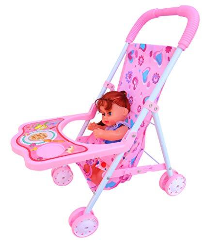 Akshat Baby Stroller Doll Trolley Nursery Furniture Toys