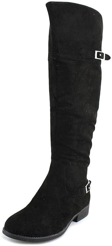 American Rag Womens Adarra Suede Almond Toe Knee High Fashion Boots