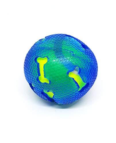 takestop Palla da Tennis con Protezione in Gomma Morbida 7.5CM Pallina Gioco Cane Cani ED_68222 Animale Domestico ADDESTRAMENTO da Masticare Colore Casuale