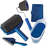 MODEHUAYING Paint Runner Pro - Rodillo profesional, color azul, universal