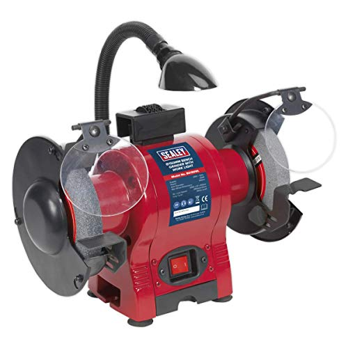 Sealey BG150WL Bench Grinder Ø150mm with Work Light 250W/230V