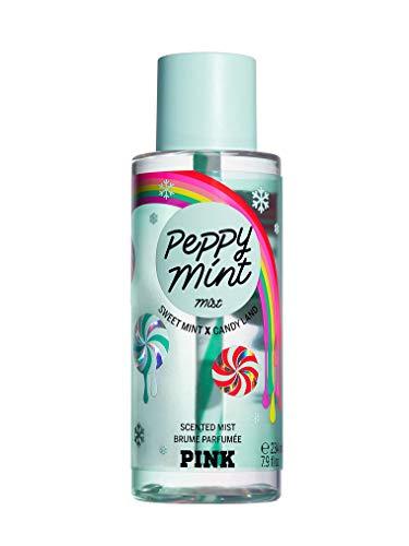 Victoria Secret Pink New! Brume corporelle Menthe Peppy 250 ml