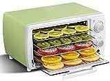 ZLSP Deshidratador, máquina Secadora de Frutas con Control de Temperatura 30-78 ° C Temporizador de hasta 12 Horas con 5 bandejas de Limpieza fácil for Verduras de Frutas y Chile