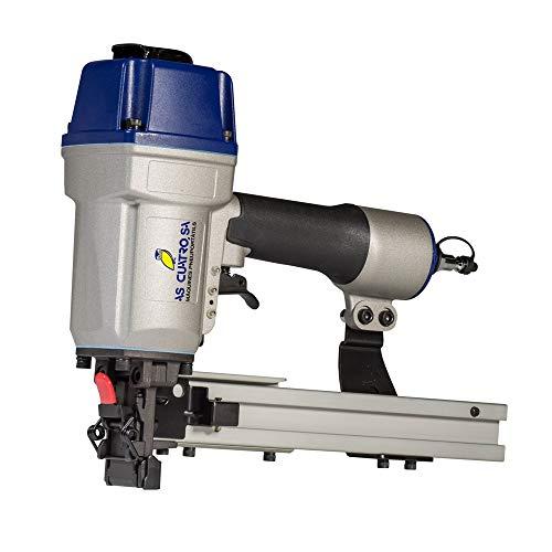 Grapadora Neumática Industrial Modelo LU 1068/38 Grapa ancha y gruesa para la unión de cartón sobre pallets