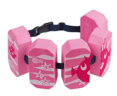 Beco 96071-4_pink 96071 4 - Schwimmgürtel Sealife, für 2 - 6 Jahre, 15 - 30 kg, pink