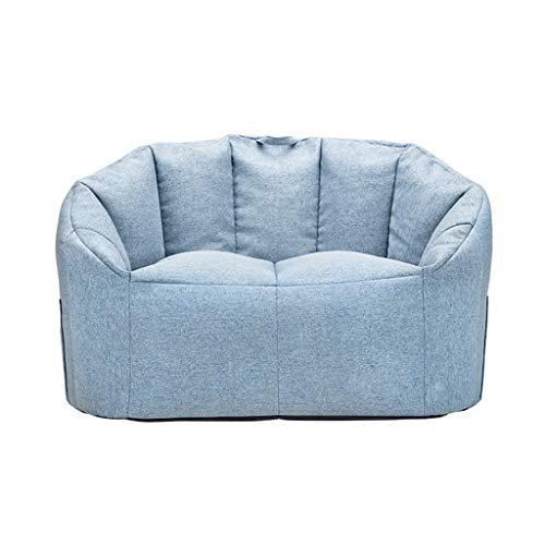 RENJUN- Puff Pelota Cómodo Respaldo Bolsillos Laterales Y Diseño De Asa. con Partículas De EPP Apto for Niños Adolescentes 70x100cm (Color : Blue)