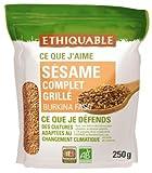 Ethiquable Sésame Complet Grillé Burkina Faso Bio 250 g