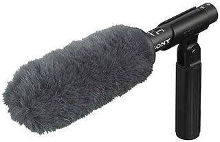 Sony ECM-VG1 Electret Condenser Short Shotgun Microphone, 40Hz to 20kHz Frequency Response