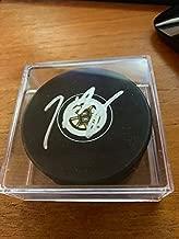 Boston Bruins Patrice Bergeron Autographed Puck