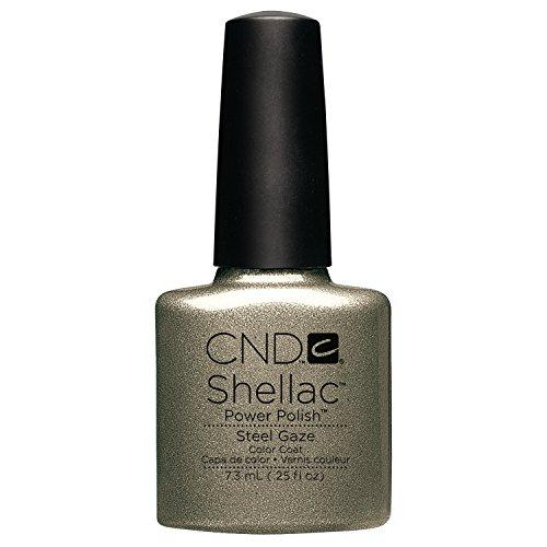 CND Shellac Vernis à Ongles Gel Steel Gaze 7,3 ml