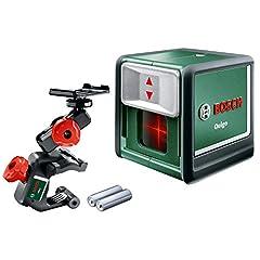 Bosch laser à ligne croisée Quigo (3e génération, portée : 10 m, boîte, laser rouge)