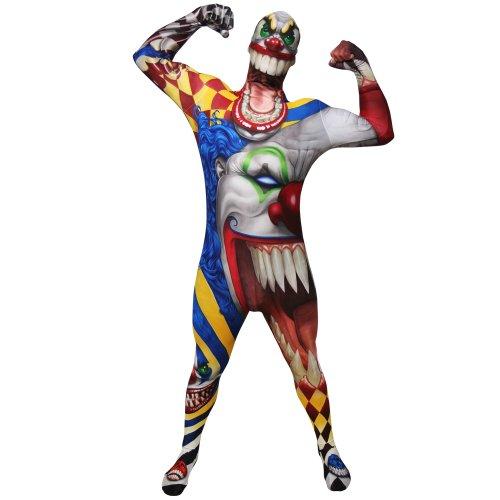 Morphsuits - Monstre - Clown Pour Hauteur 165-180 Cm - Taille L