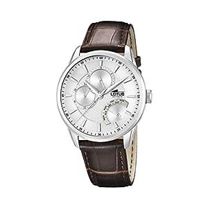 Lotus 15974/1 – Reloj de Pulsera Hombre, Cuero, Color Marrón