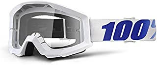 100% Unisex-Adult Speedlab (50400-237-02) STRATA Goggle Equinox-Clear Lens, One Size)