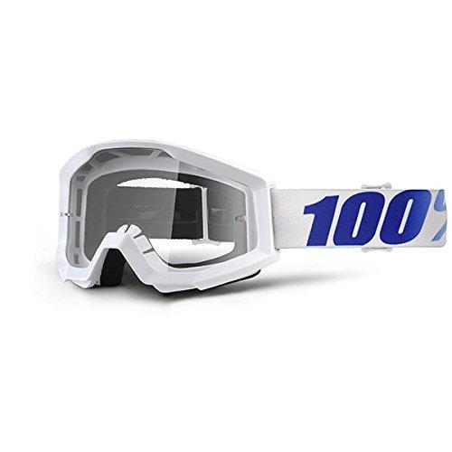 100% 50400-237-02 Strata Equinox Masque de Vtt Blanc