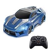 EACHINE EC03 Ferngesteuertes Auto Kinder Wandklettern RC Car 360 ° Rotating Stunt Dual-Fahrmodus Kinderauto mit LED-Leuchte Fahrzeuge Spielzeug Geschenke für Kinder -