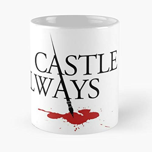 Awesomdeals Nathan Caskett Stana Kate Beckett Always Fillion Katic Castle Richard Best 11 oz Kaffeebecher - Nespresso Tassen Kaffee Motive