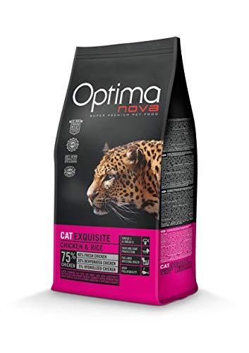 Optima Nova - Pienso para gatos adultos exquisite pollo y arroz