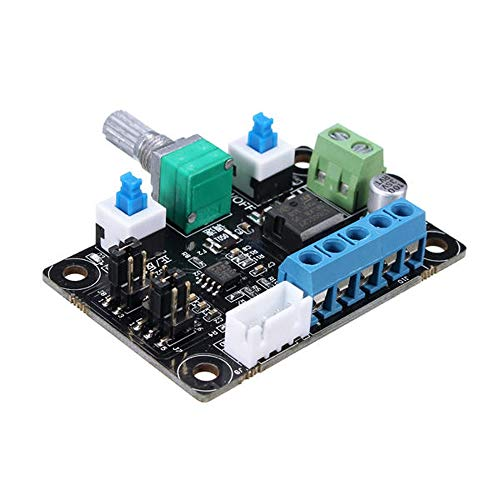 JIAGU 3D Printer Integrated Motherboard Stepper Motor Driving Controller Pulse PWM Speed Reversing Control For 3D Printer 3D Printer Motherboard (Color : Black, Size : One size)