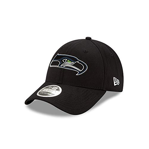 New Era - NFL Seattle Seahawks 2020 Draft Official 9Forty Stretch Snapback Cap - Schwarz Farbe Schwarz, Größe One Size
