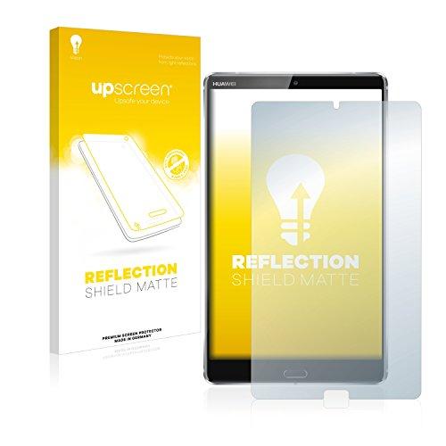 upscreen Entspiegelungs-Schutzfolie kompatibel mit Huawei MediaPad M5 8.4 – Anti-Reflex Bildschirmschutz-Folie Matt