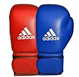 adidas Unisex's AIBA Approved Competition Boxing Gloves, Blue, 12oz