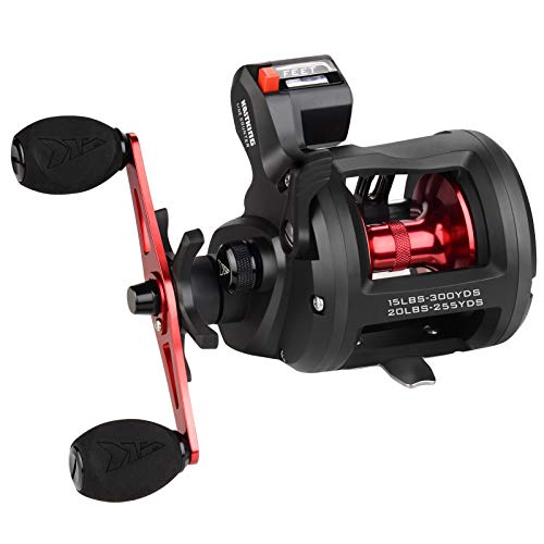 KastKing ReKon Line Counter Trolling Fishing Reel