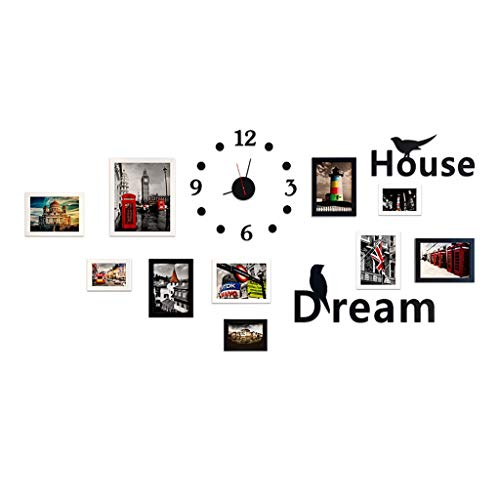 XUXUWA 3d stereo wall stickers background wall self-adhesive photo frame wallpaper stickers children bedroom wall decorations