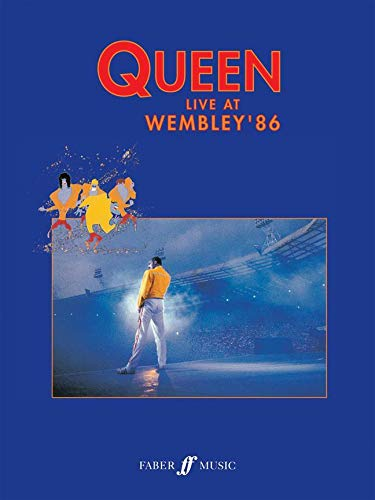 Price comparison product image QUEEN : LIVE AT WEMBLEY '86 - PIANO VOIX GUITARE (P V G)