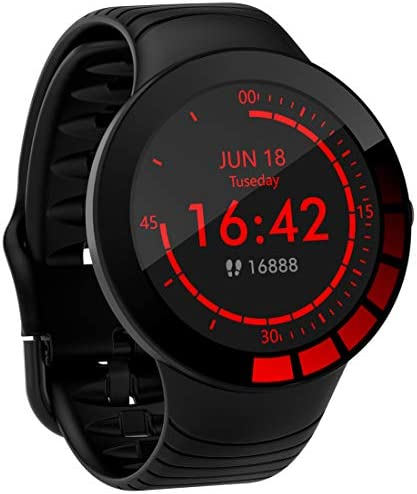 Pard 2021 Young Men Smart Watch Full Touch Fitness Tracker with Heart Rate Blood Pressure Monitor product image